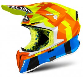 CAPACETE AIROH TWIST 2.0 FRAME YELLOW GLOSS